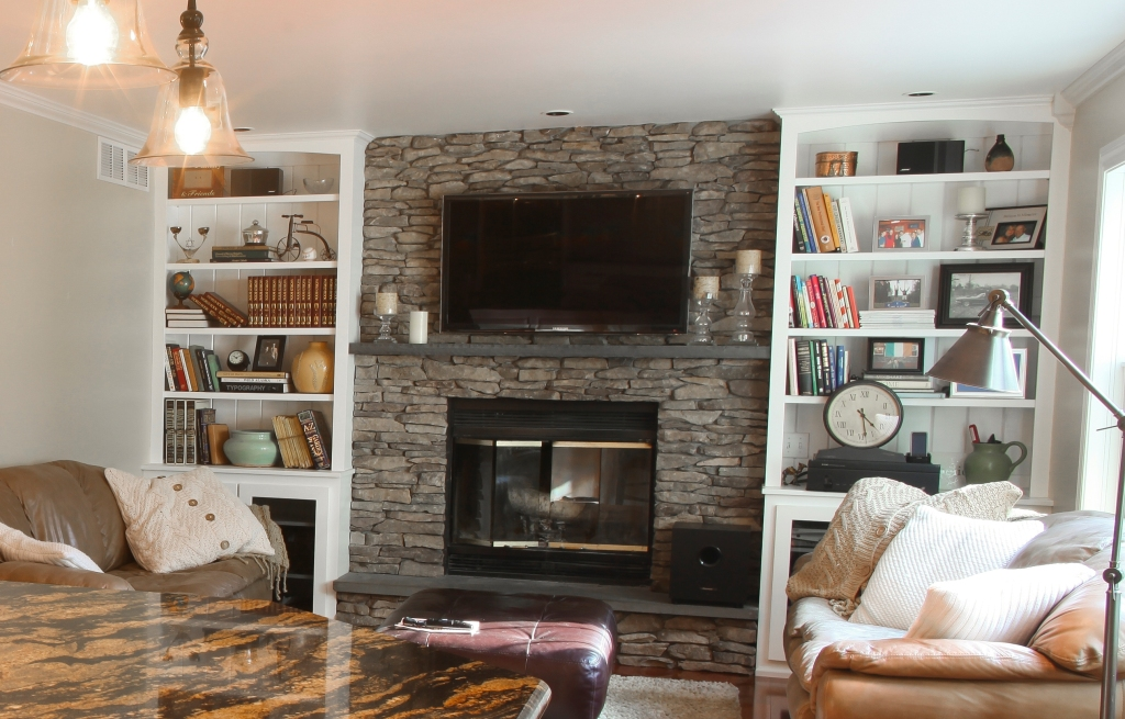 Frontline Remodeling: Passinault Fireplace