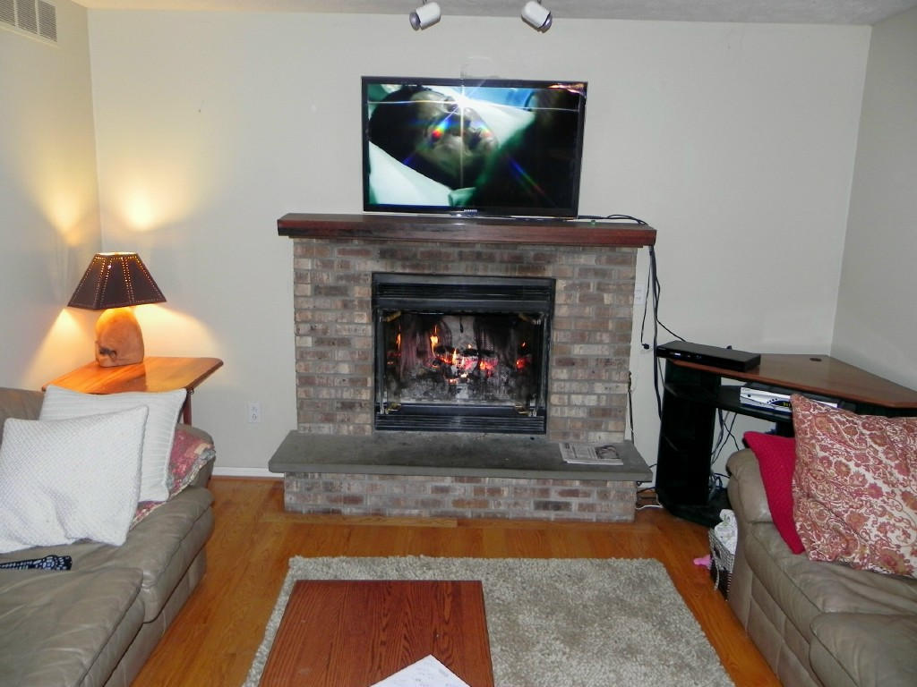 frontline remodeling passinault fireplace